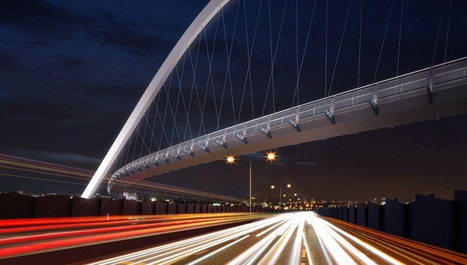 Hendon Park Bridge Image 3 | Steel Detailing Project