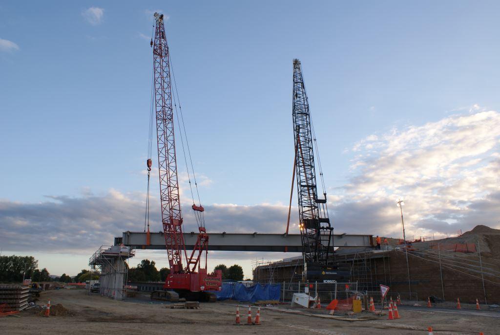 Cambridge Southern Interchange Image 3 | Steel Detailing Project